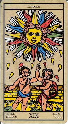 Arcanos mayores 19 El Sol