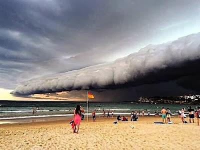 Impresionante tormenta apocaliptica