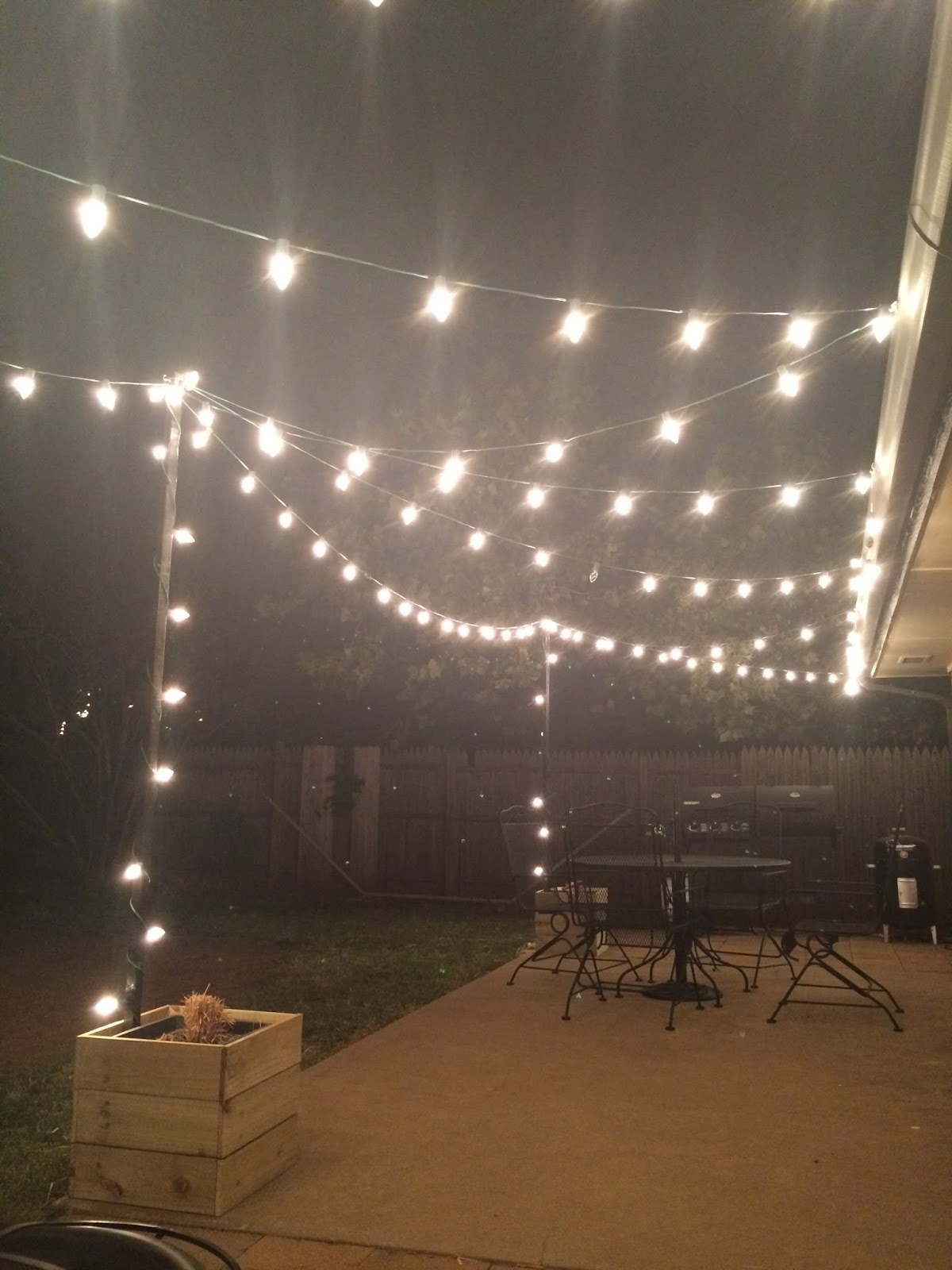 planter lighting. And, I Love The Look Of These Planter Boxes Which Was Just A Bonus!! All In Cost Less Than $20 To Build Three! Lighting C