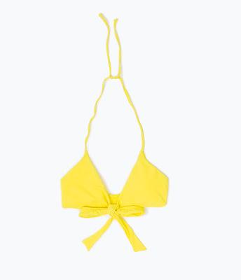Plain Bikini Top at www.zara.com