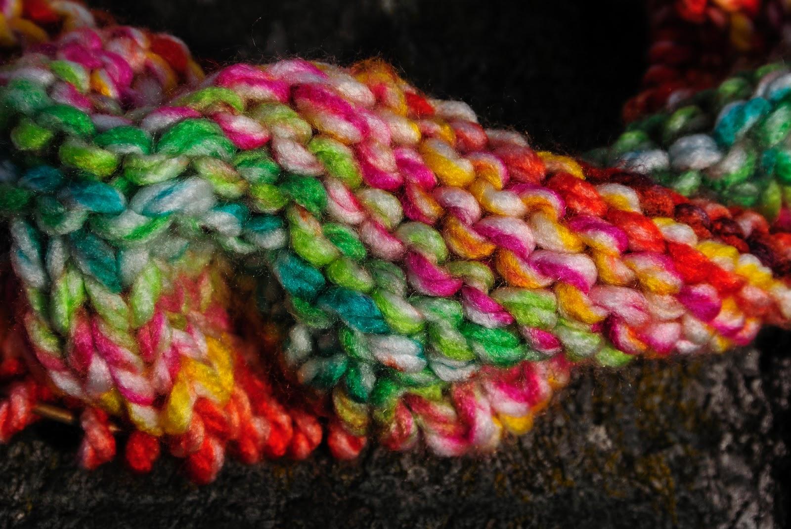mobius sjaal met katia garen