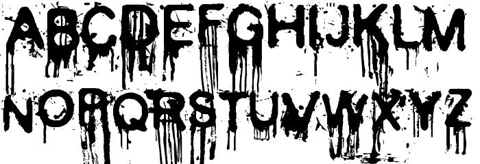 35 en güzel ücretsiz korku yazı fontları
