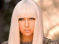 pop singer Lady Gaga