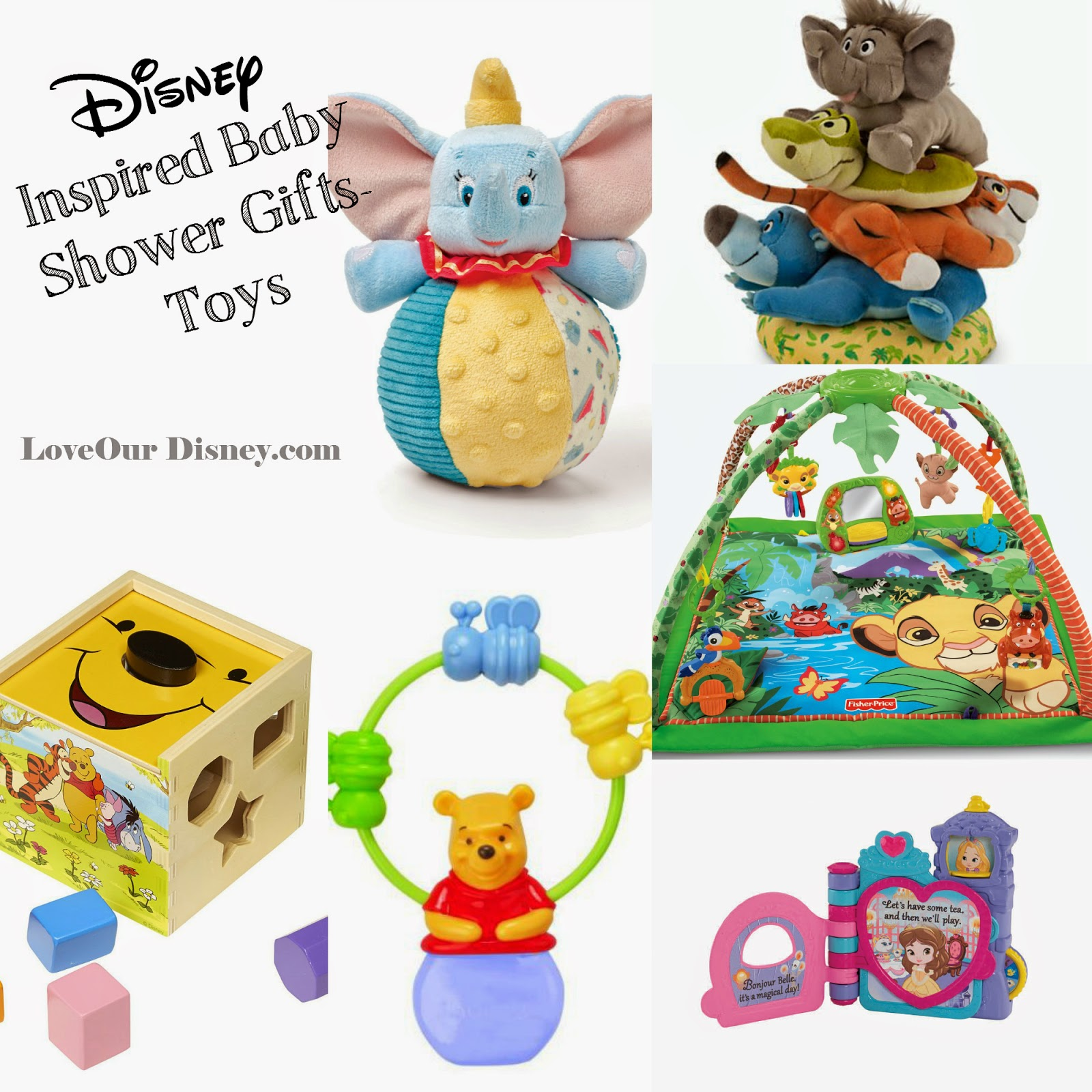 Disney Toys That Make Great Baby Shower Gifts LoveOurDisney.com