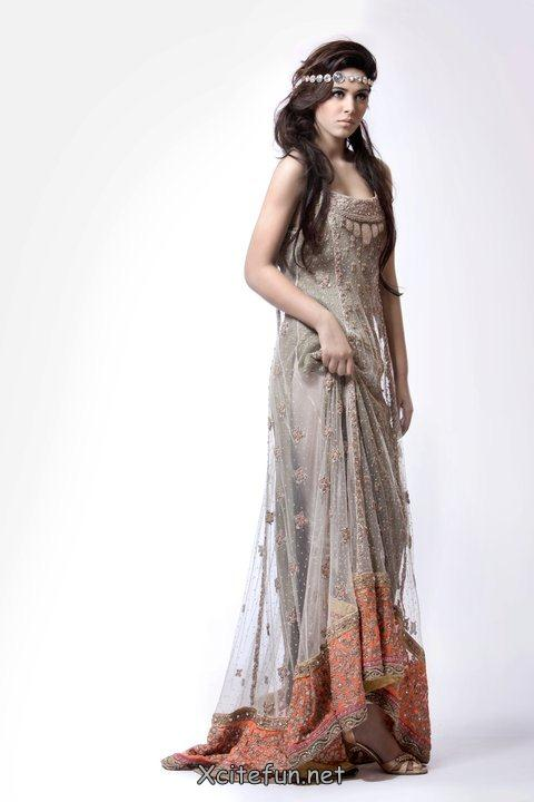 Khadijah Shah Pret Line Dress For Eid