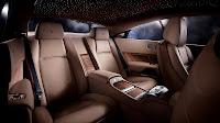 Rolls-Royce Wraith back interior
