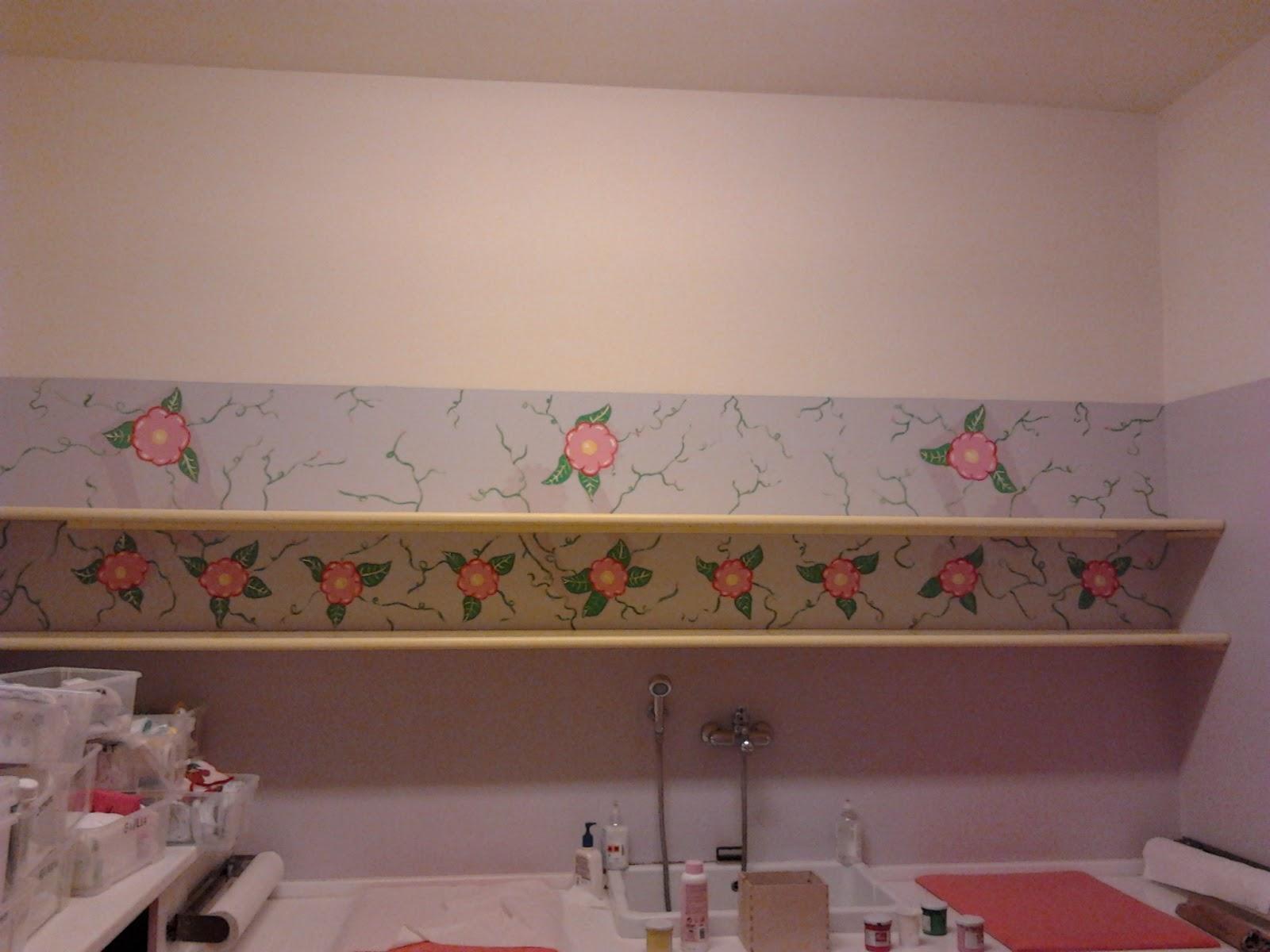 Silvia fassina arts and jobs pareti bagni dell 39 asilo - Decorazioni pareti bagno ...