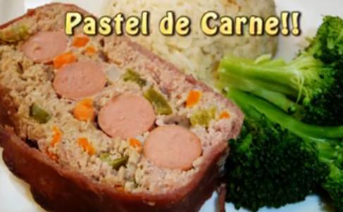 Paastel De Carne Envuelto en Tocino