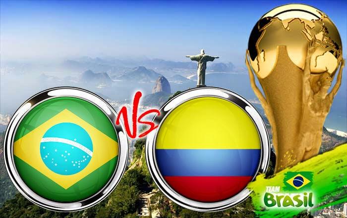 Perkiraan Skor Pertandingan Babak Perdelapan Final Piala Dunia (05/07), Brasil vs Kolombia