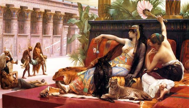 Cleopatra ensaya venenos en condenados a muerte Alexandre Cabanel