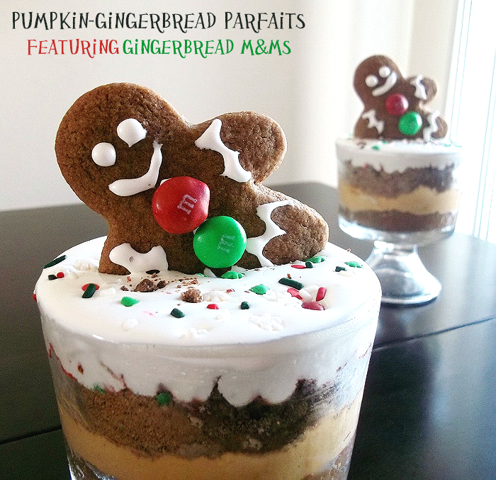 #HolidayMM Gingerbread M&Ms