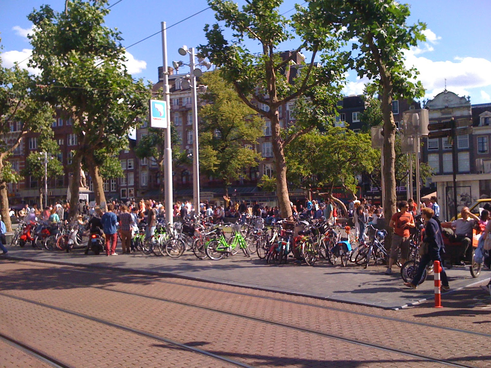 Rembrandtplein Amsterdam