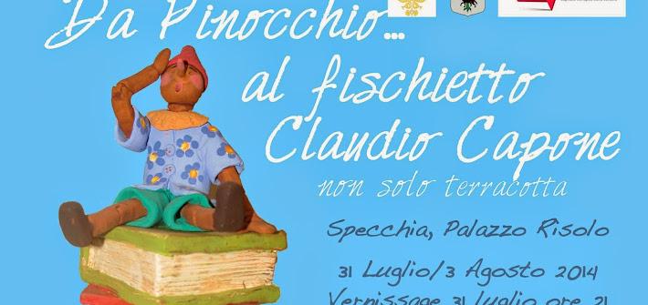 """Specchia: """"Da Pinocchio… al fischietto"""", Capone in mostra"""