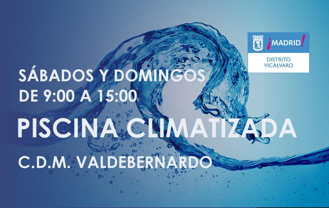 Apertura piscina climatizada fines de semanas vicalv for Piscina municipal vicalvaro