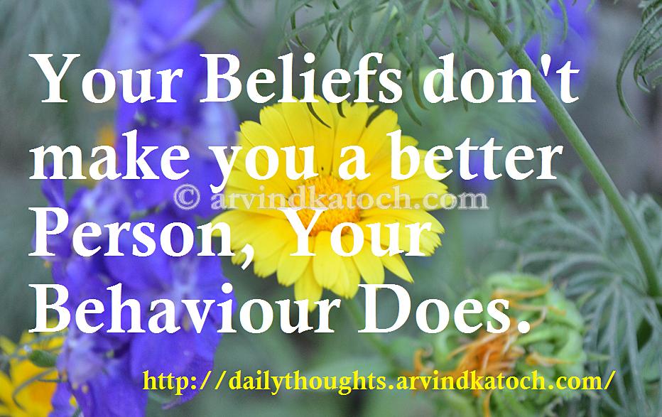 """better to die for your beliefs You might be surprised to find out that the common belief that man has (or is)  if our loved ones don't move on to a """"better place"""" when they die, ."""