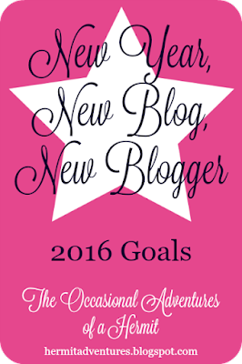 New Year, New Blog, New Blogger @ The Occasional Adventures of a Hermit