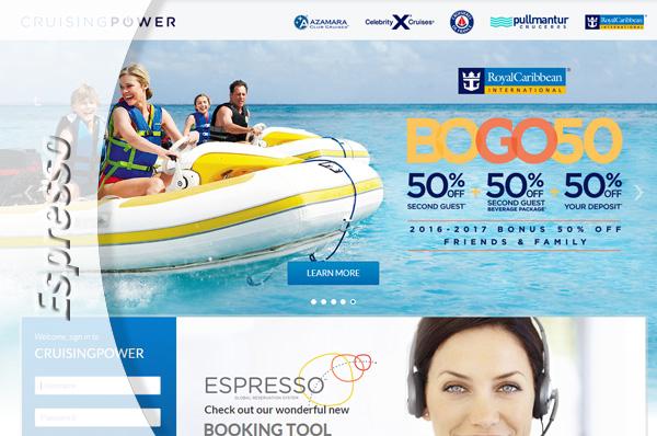 NOTICIAS DE CRUCEROS - Royal Caribbean, Espresso, el sistema de reservas más moderno de la industria, se pone en marcha