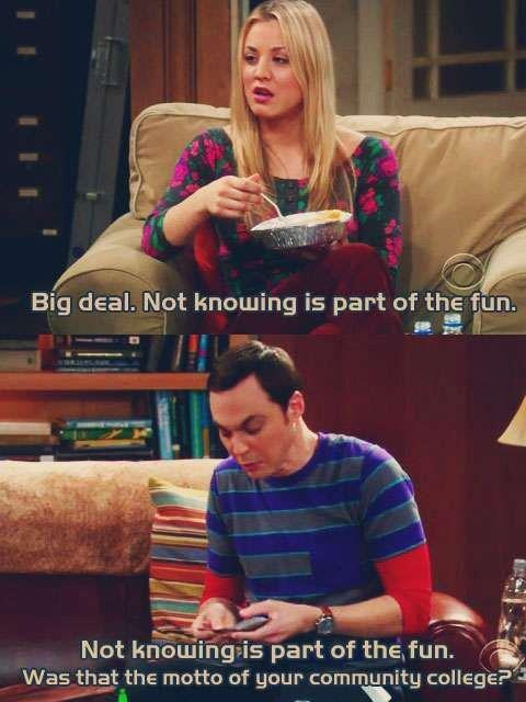 The Absolutely Hilarious Relationship B/w Penny And Sheldon