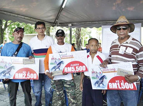 Wajah Pemenang Jelajah Pancing KL di Tasik Ampang Hilir