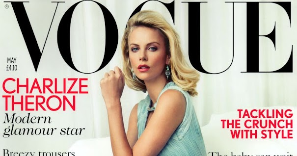 Charlize Theron Covers Vogue UK in Versace (Forum Buzz