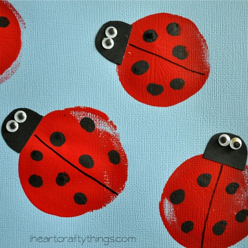 Balloon Printed Lady Bugs Cooking With Ruthie