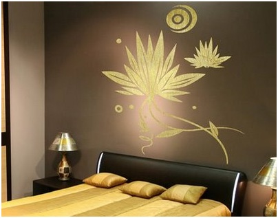 BEDROOMS DECORATING WITH VINYLS- HOW TO DECORATE DORMS WITH STICKERS - HOW TO APPLY WALL DECALS