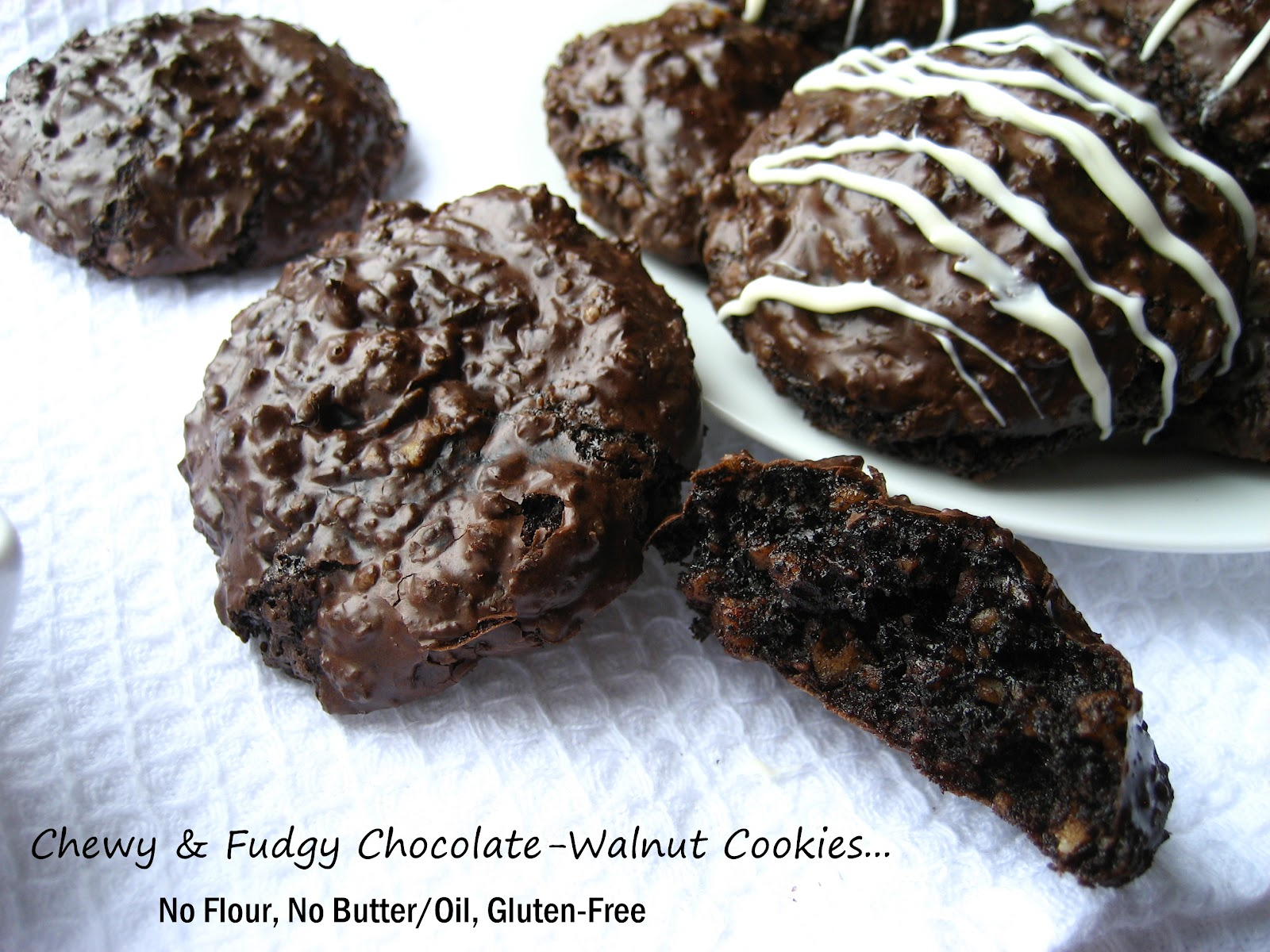 cookies spiced walnut date and chocolate cookies flourless chocolate ...
