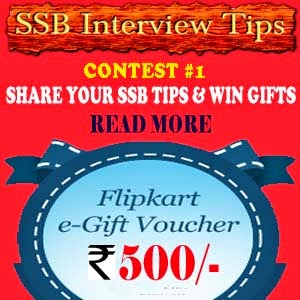 SSB interview contest