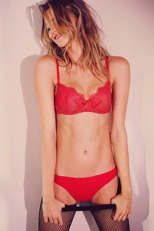Behati Prinslo Hot and Sexy Lingerie Photoshoot