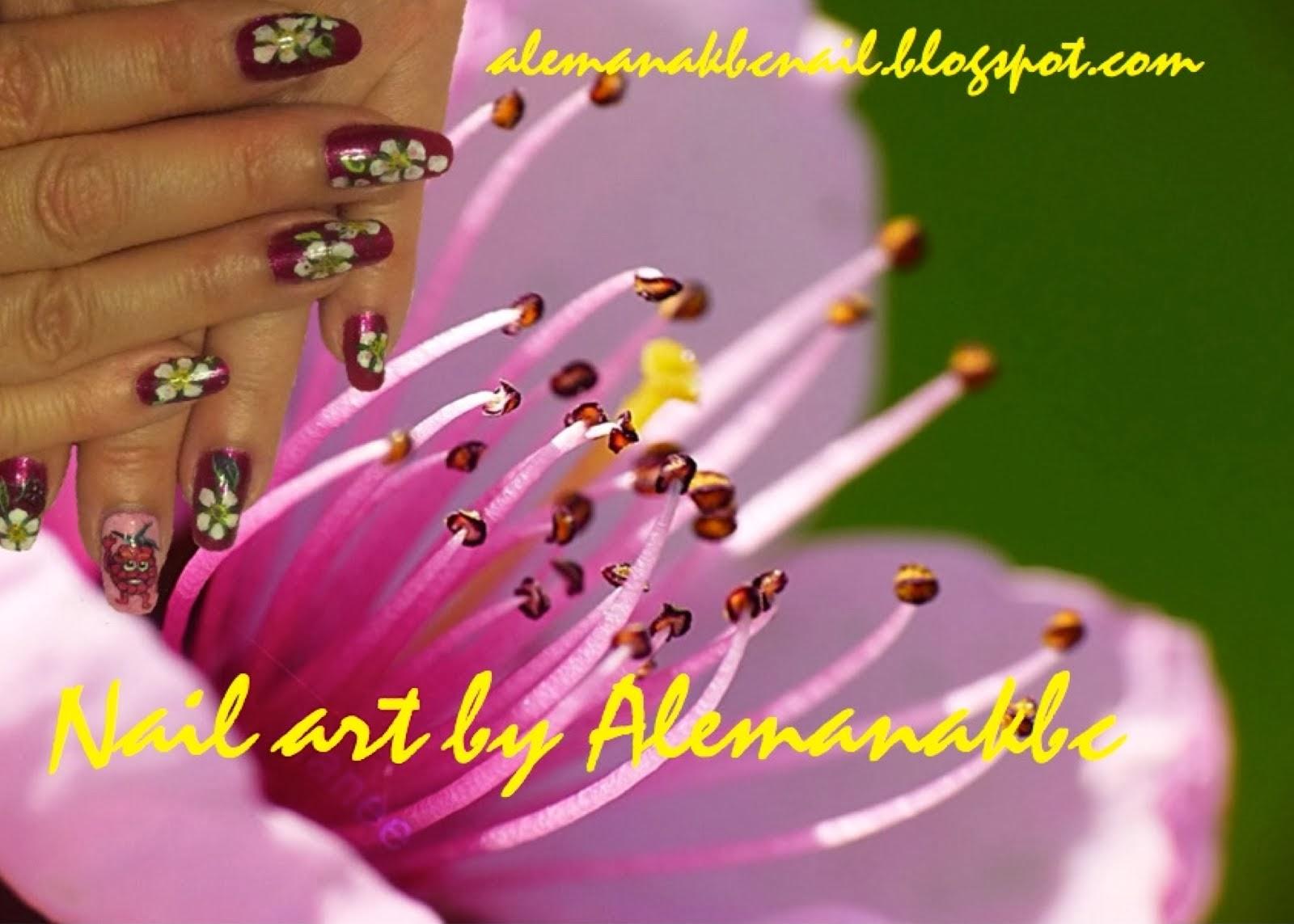 Nail art by Alemanakbc