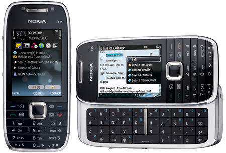 NOKIA E75 3G TOUCHSCREEN QWERTY