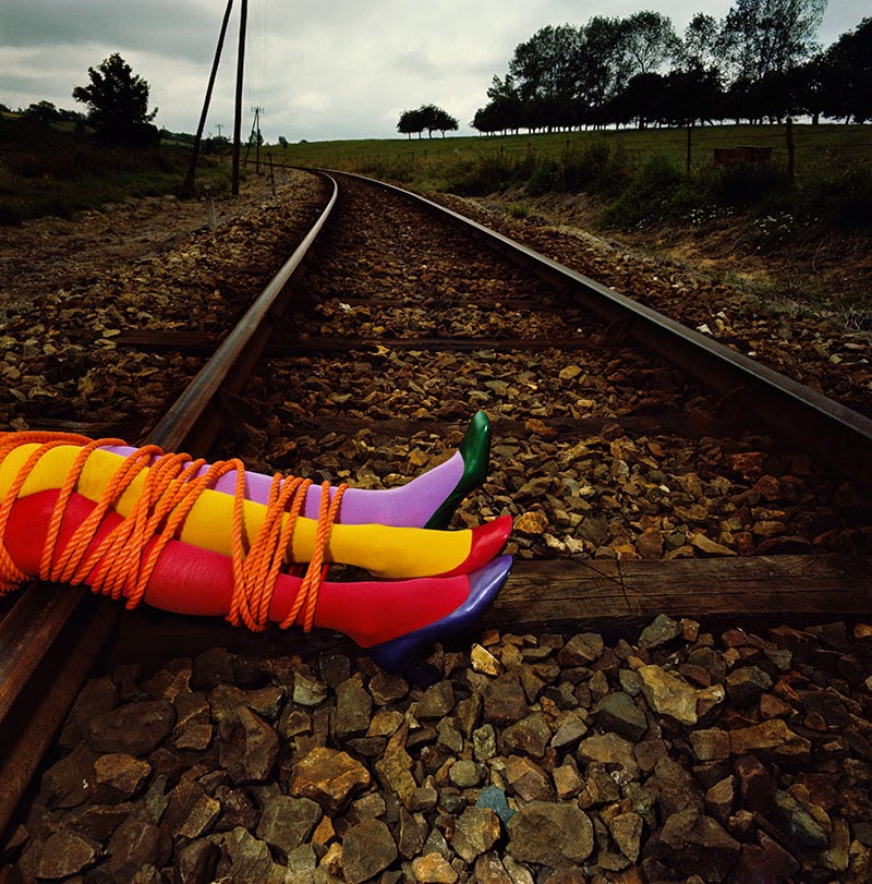 retrospectiva de Guy Bourdin en la Somerset House