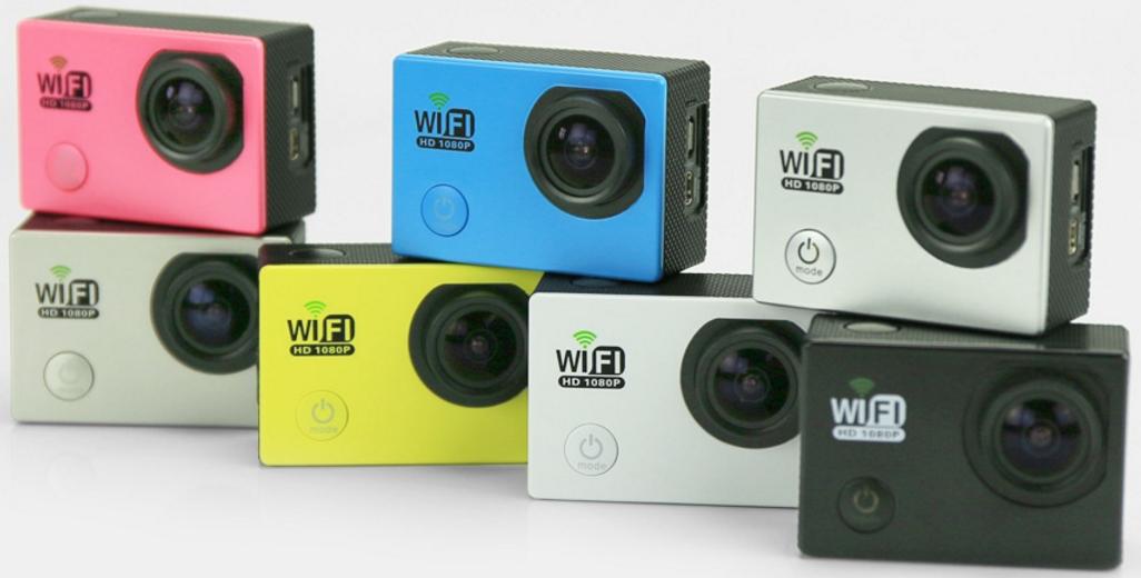 Kết quả hình ảnh cho Camera DVR Full HD 1080P Wifi DV6000