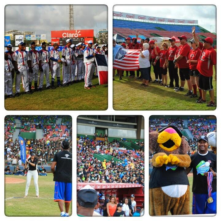 Clásico de Beep Béisbol organizado por la Fundación Francina Hungría en Dominicana