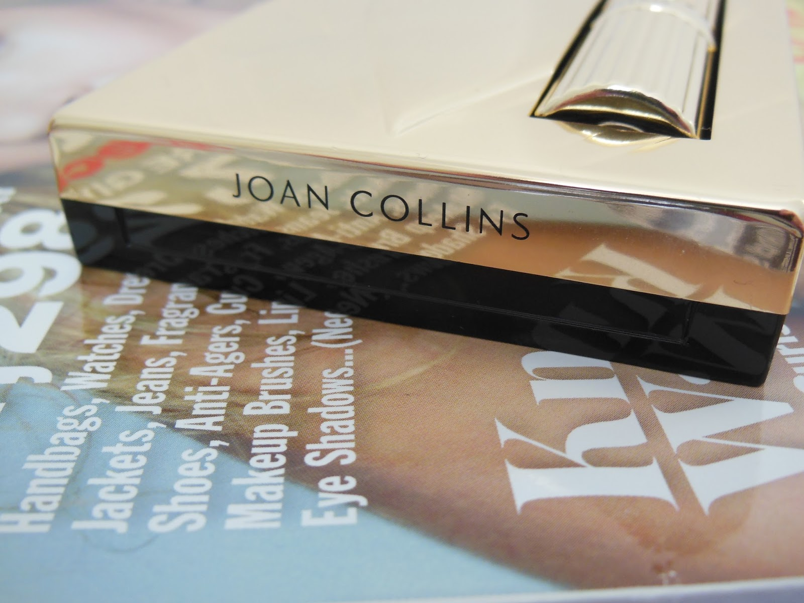 Joan Collins timeless beauty makeup