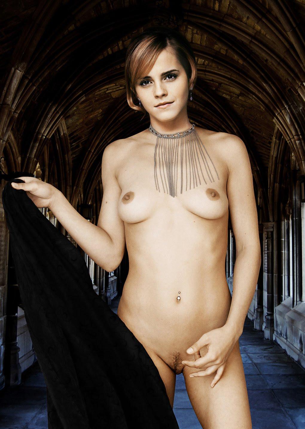 Fake Emma Watson alias Hermine Granger aus Harry