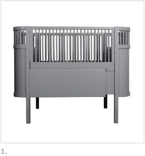 grey Kili Cot Bed