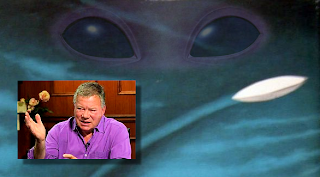 William Shatner Writing Novel About UFOs and Alien Abduction