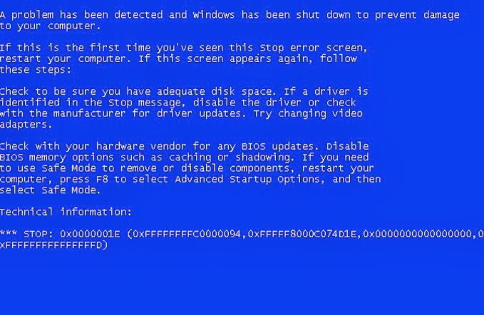 computer bsod on startup windows 7