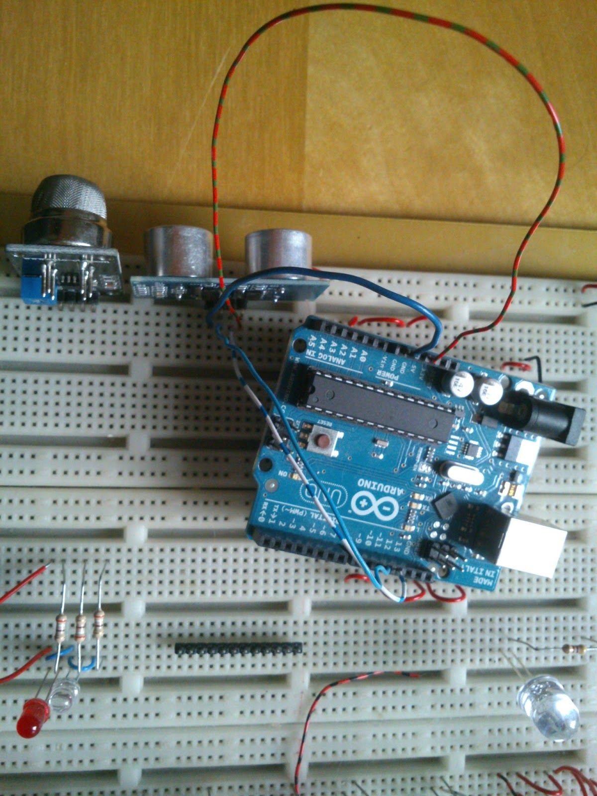 Ultrasonic sensor with arduino vanceance