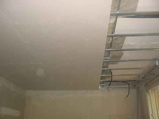 Siland - Como colocar pladur en techo ...
