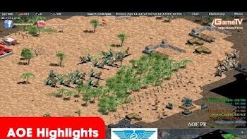 AOE Highlights, Vượt khó không tưởng cho GameTV khi quân tịt không chân chống