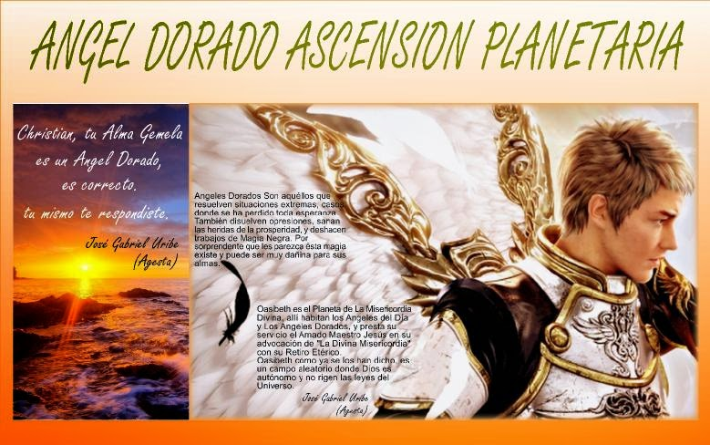 ANGEL DORADO ASCENSION PLANETARIA