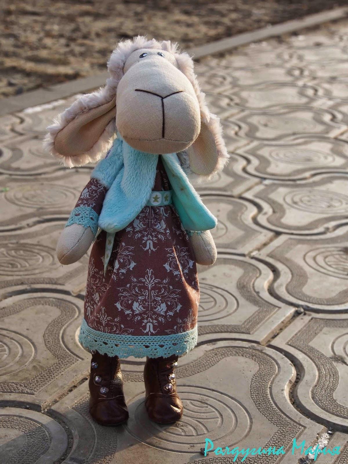 овечка - символ 2015 года