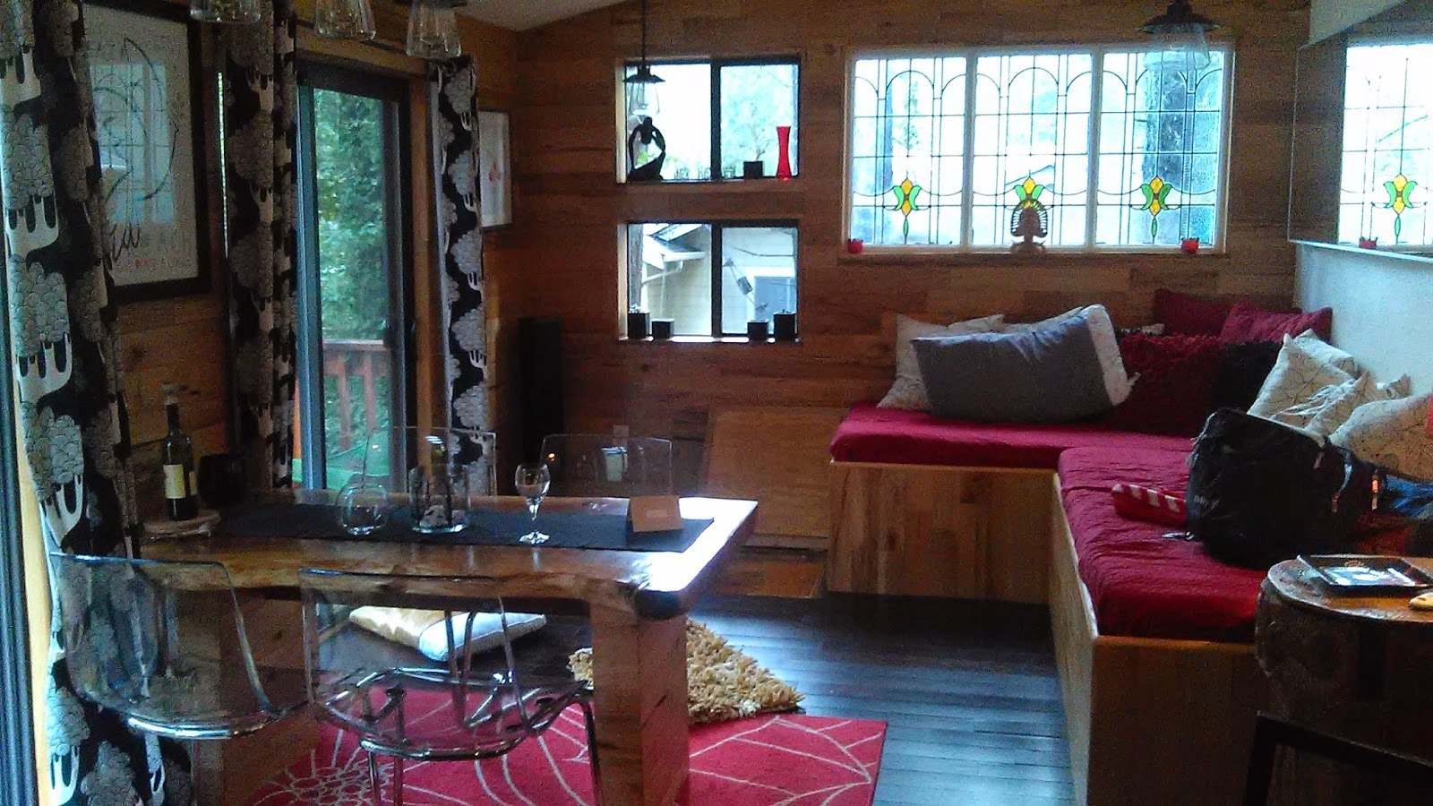 Middletown CA Mini Vacation Getaway Cabin Living Mahogany Closet Lifestyle Fashion Style Blog