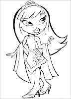 Bratz Coloring Pages