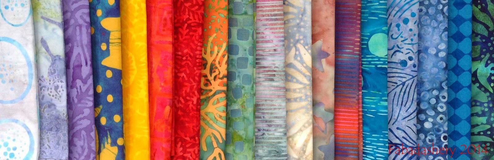 Giveaway Prize - 18 FQs of Batik Fabric