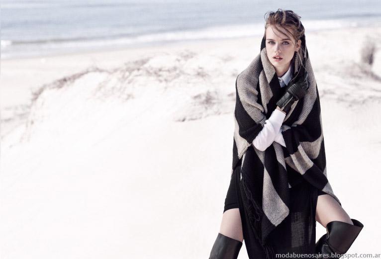 Paula Cahen D'Anvers otoño invierno 2015. Moda tejidos invierno 2015.