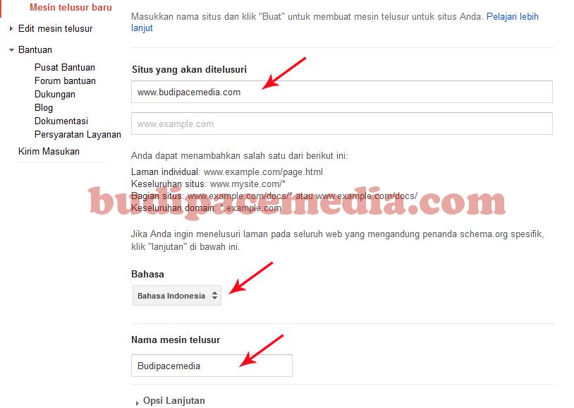 Cara Membuat Google Custom Search Engine