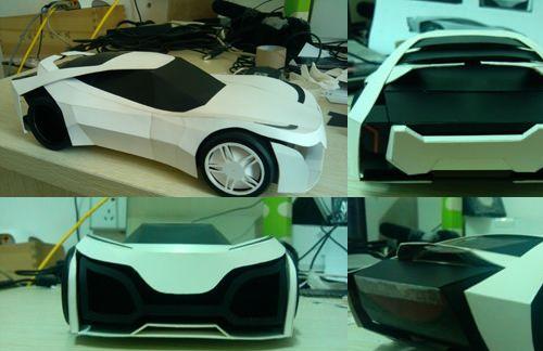 Lamborghini Madura Papercraft